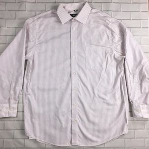 KENNETH COLE DRESS Button Down SHIRT 16 1/2 32-33